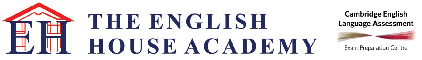 Logo de The English House Academy, academia de idiomas en Ferrol